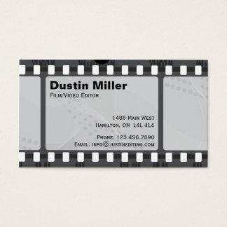 Film Strip - Black Business Card