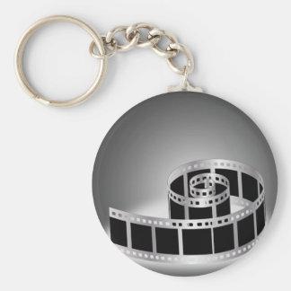 Film strip key ring