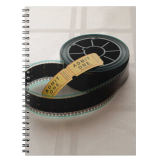Film Time Spiral Note Books