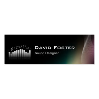Film TV Audio Sound Designer Director Business Cards