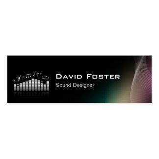Film TV Audio Sound Designer Director Pack Of Skinny Business Cards