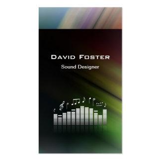Film TV Audio Sound Designer Director Pack Of Standard Business Cards
