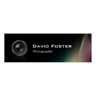 Film TV Freelance Photographer Cinematographer Business Card Templates