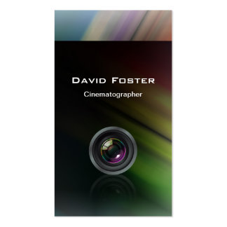 Film TV Photographer Cinematographer Business Cards