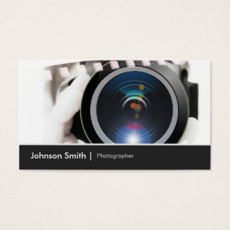 Film TV Photographer Cinematographer Camera Lens Business Card