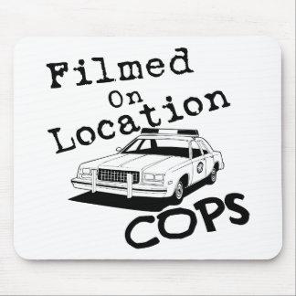 Filmed On Location-Mousepad