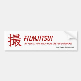 Filmjitsu Bumper Sticker