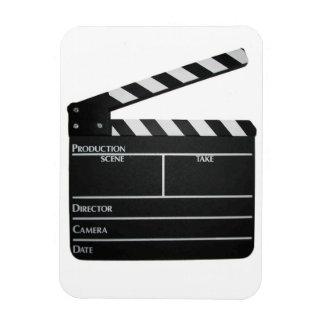 Filmmaker Film slate clapboard movie magnet