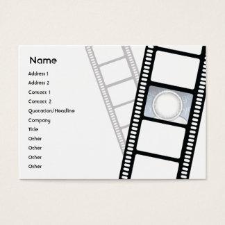 Filmstrip - Chubby Business Card