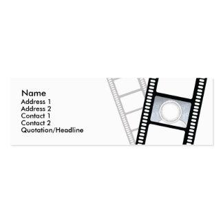 Filmstrip - Skinny Business Card Templates