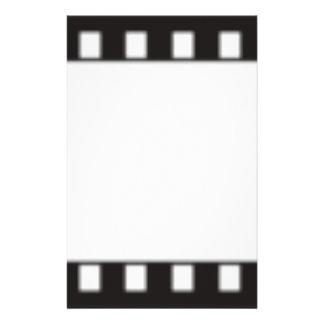 filmstrip stationery