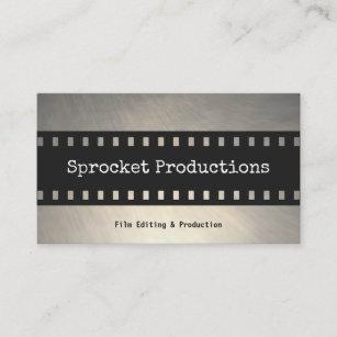 Film producer business cards zazzle au filmstrip thriller filmmaker film producer business card colourmoves