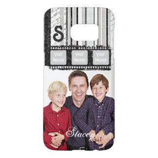 Filmstrip w/ B&W Stripes