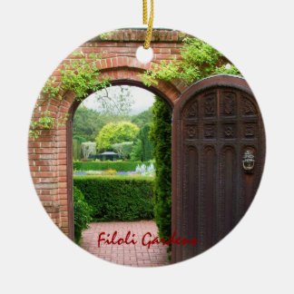 Filoli Gardens Christmas Ornament