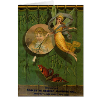 Filomena and the Fairy, Greeting Card