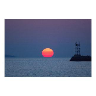 Filtered Light Photo Print