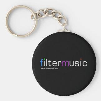 FilterMusic  keychain