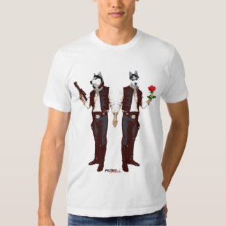 Filthy Gorgeous Huskies don't go Solo! T Shirts