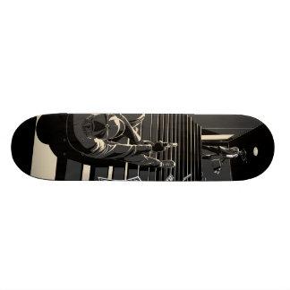 Fim noir 18.1 cm old school skateboard deck