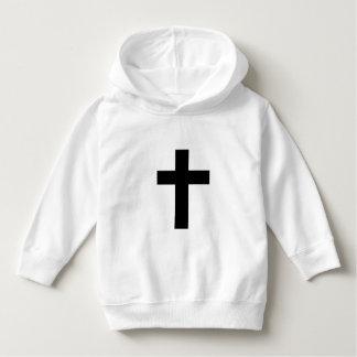 final black cross hoodie