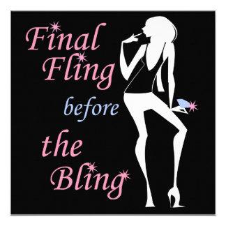 Final Fling before the Bling Invite