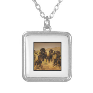 FINAL FRONTIER SILVER PLATED NECKLACE