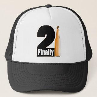 Finally 21 trucker hat
