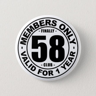 Finally 58 club 6 cm round badge