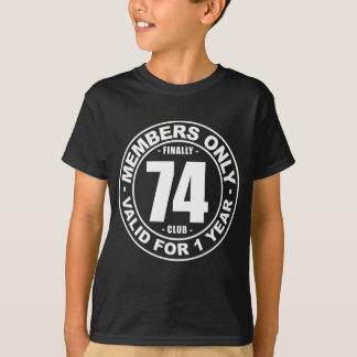 Finally 74 club T-Shirt