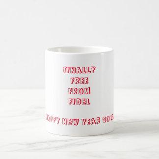 Finally Free from Fidel Coffee Mug