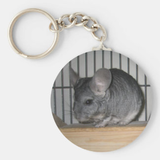 Finally Home Chinchillas: Cheeko Key Ring
