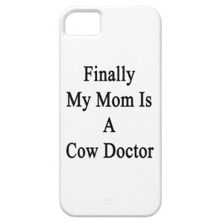 Finally My Mom Is A Cow Doctor Cover For iPhone 5/5S
