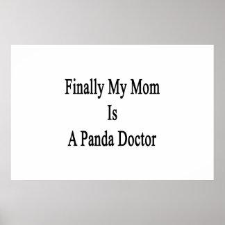 Finally My Mom Is A Panda Doctor