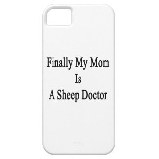 Finally My Mom Is A Sheep Doctor Cover For iPhone 5/5S