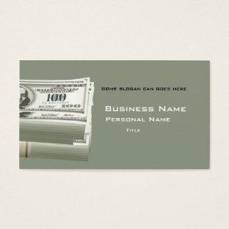 Finance Business Business Card