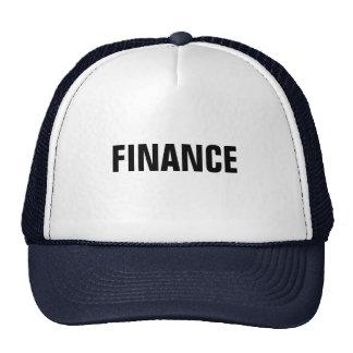 FINANCE TRUCKER HAT