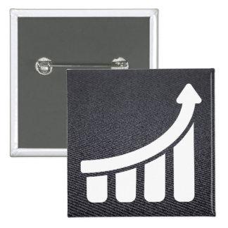 Finances Highers Minimal 15 Cm Square Badge