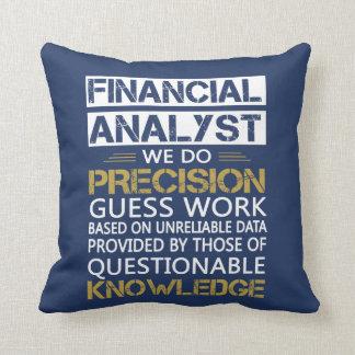 FINANCIAL ANALYST CUSHION