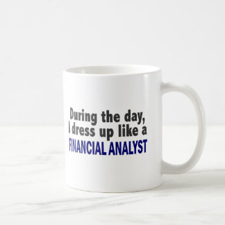 Financial Analyst During The Day Mug