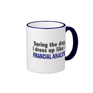 Financial Analyst During The Day Ringer Mug