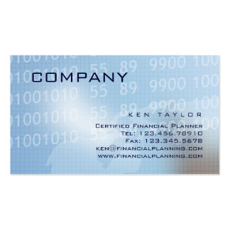 Financial / Computer Technical Business Card