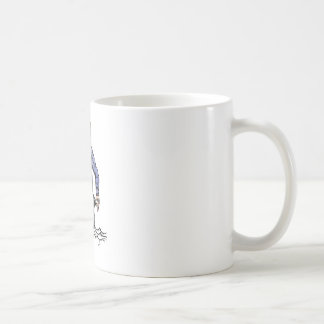 Financial Crisis Basic White Mug