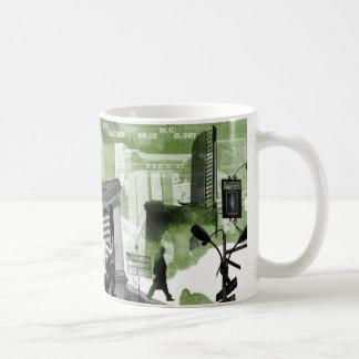 Financial District Collage Mug