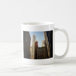 Financial District Skyscrapers, New York City Classic White Coffee Mug