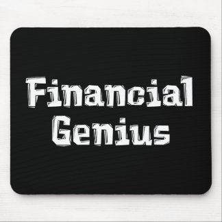 Financial Genius Mousepad