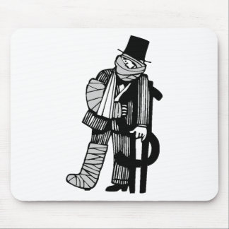 Financial Hardship Mouse Pad