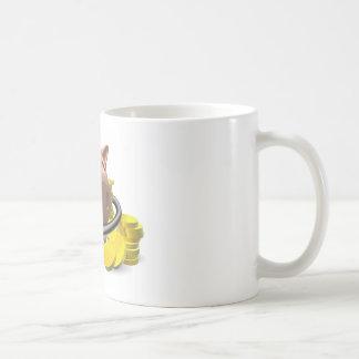 Financial health check concept mug