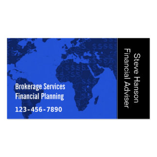 Financial Investment Services Company Business Card Templates