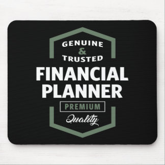 Financial Planner | Gift Ideas Mouse Pad