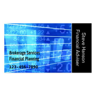 Financial Services Company Pack Of Standard Business Cards